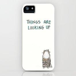 Optimisticat iPhone Case