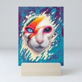 A Cat Insane Mini Art Print