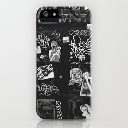 Leave A Message iPhone Case