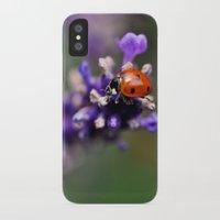 ladybug iPhone & iPod Cases featuring Ladybug by Nathalie Photos