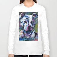 brad pitt Long Sleeve T-shirts featuring BABE PITT by RaE Bright