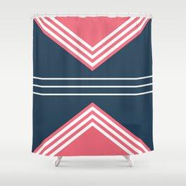 Nautical geometry 5 Shower Curtain