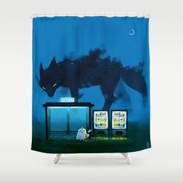 Early hours Shower Curtain