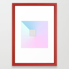 Gradient Composition 3 Framed Art Print