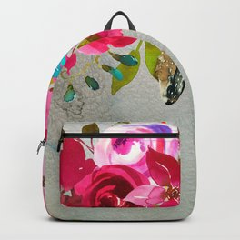 Flowers bouquet #39 Backpack