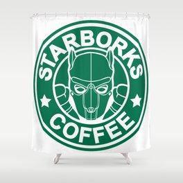 Starborks Shower Curtain