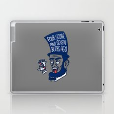 Abe Drincoln Laptop & iPad Skin