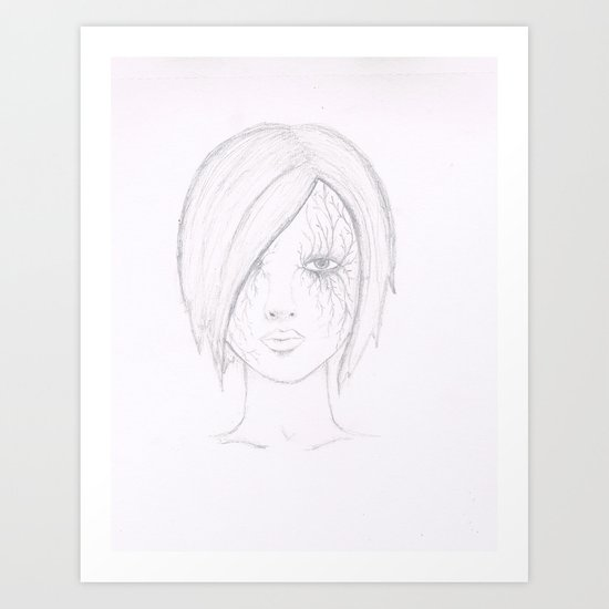 Another Girl. Art Print