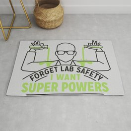 FORGET LAB SAFETY Rug