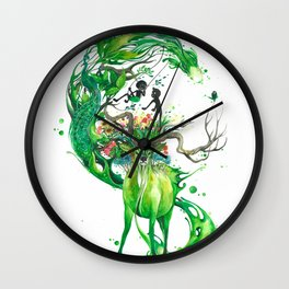 Lovely Spring Wall Clock