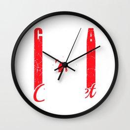 Canada Cricket - Cricket Design Wall Clock