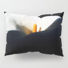 White Flower Pillow Sham