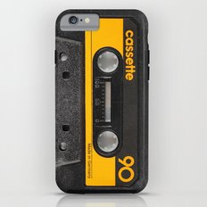 Yellow Cassette iPhone 6 Tough Case