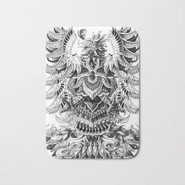 Heraldic Phoenix Bath Mat