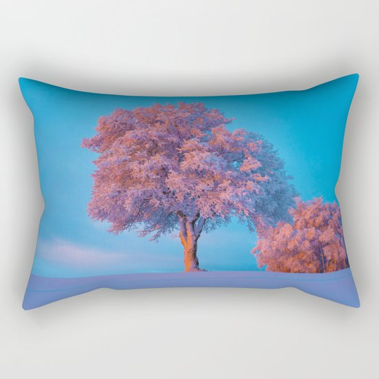 Stay A While Rectangular Pillow