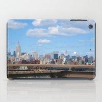 manhattan iPad Cases featuring Manhattan by Sadie Mae