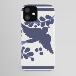 Talavera Blue Bird iPhone Case