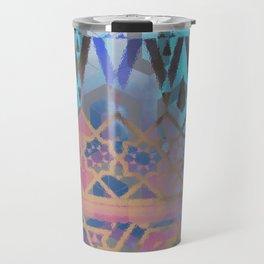 Geometric Moroccan Patterns Travel Mug