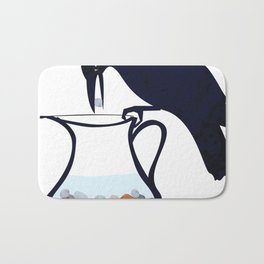 The Crow and the Pitcher Bath Mat