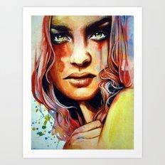 Erubescent Art Print