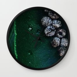Life On A Leaf Wall Clock