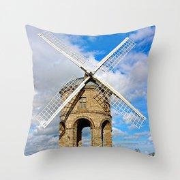 Chesterton Windmill Warwickshire Throw Pillow