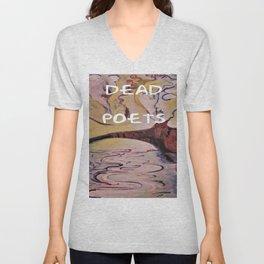 Rimbaud, Dead Poets Art Unisex V-Neck