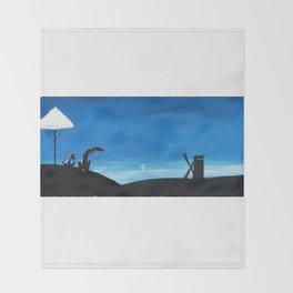 Don Quixote Throw Blanket