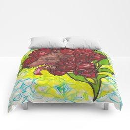 A Hideous Bouquet Comforters