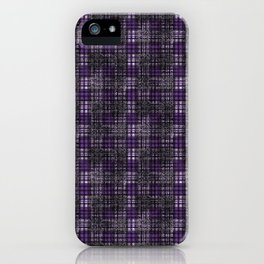 Classical cell in purple tones. iPhone Case