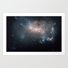 Starburst - Captured by Hubble Telescope Art Print