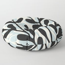 Still Life with Vase and Tree Branches Floor Pillow
