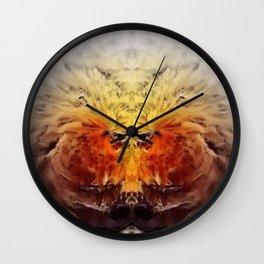 Fire Beasts Wall Clock