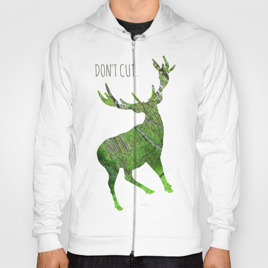 Save the animals - Deer Hoody
