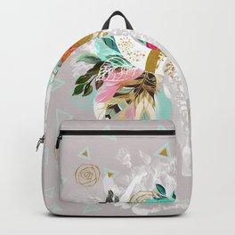 Fantasy boho skull Backpack