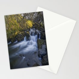 Nant Ffrancon Pass River Stationery Cards