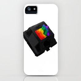 Clack the Rainbow iPhone Case