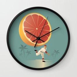 Grapefruit League Wall Clock