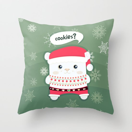 cookies? Throw Pillow