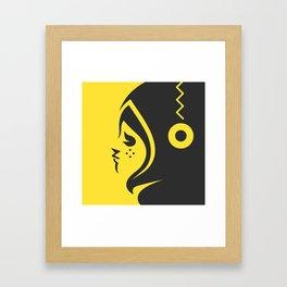Yellow char Framed Art Print