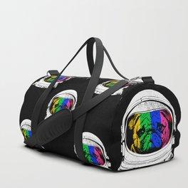 Astronaut Pug Duffle Bag