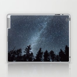 Milky Way in the Woods | Nature and Landscape Photography Laptop & iPad Skin