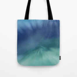 Blue meets Green Abstract Tote Bag