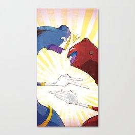 Shi - Fu - Mi Canvas Print
