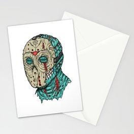 Undead Jason Stationery Cards