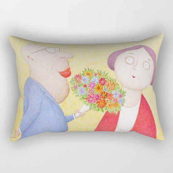 I Know You Still Love Me.... Rectangular Pillow