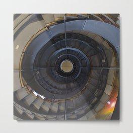 Spiralling upwards Metal Print