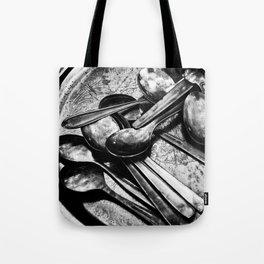 Spooning Tote Bag