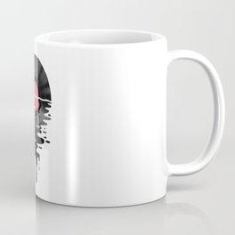 Vinyl LP Record Sunset Coffee Mug