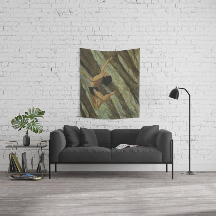 Fall from grace Wall Tapestry